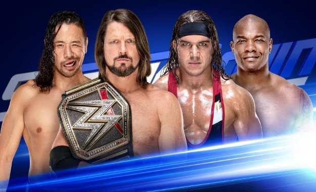 Resultados en directo SmackDown Live 3 de Abril de 2018 SmackDown Live Audiencia 3 de Abril del 2018