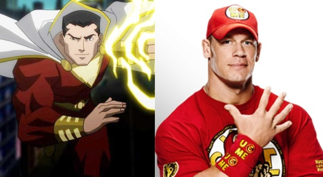 Shazam John Cena