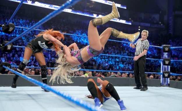 Audiencia de WWE Smackdown Live del 8 de Enero