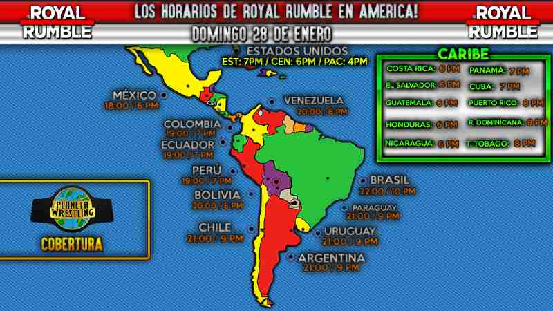 ver Royal Rumble 2018 en vivo y español