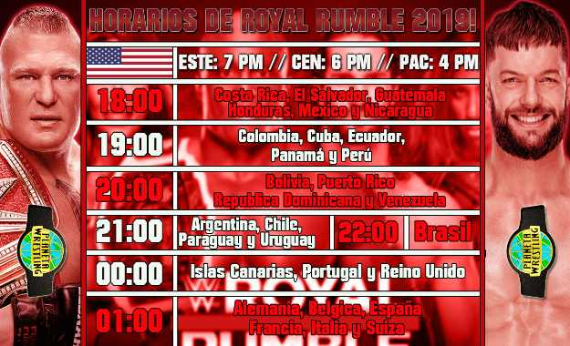 ver Royal Rumble 2019 en vivo