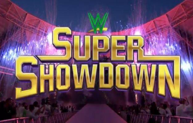 ver WWE Super Show Down en vivo