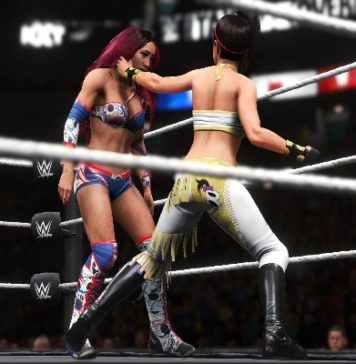 wwe 2k20 women´s evolution